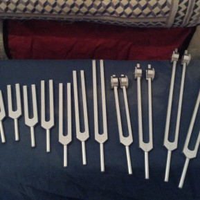 The 'Inner Sound' set of tuning forks are very calming, additional motifs with these forks help to release trapped emotion.